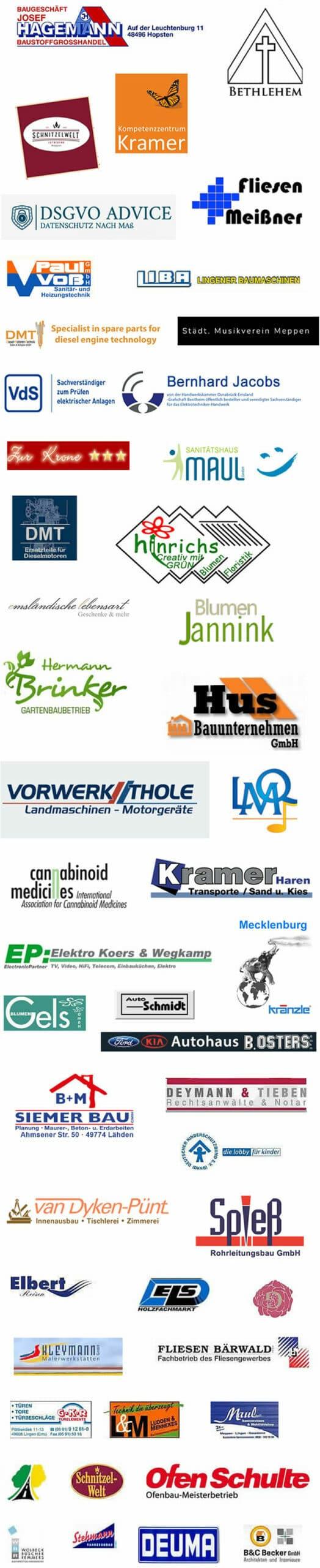 Referenzen von Webmediapark Emsland